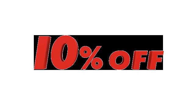 10 Off 10パーセントオフ 文字 イラスト 無料素材